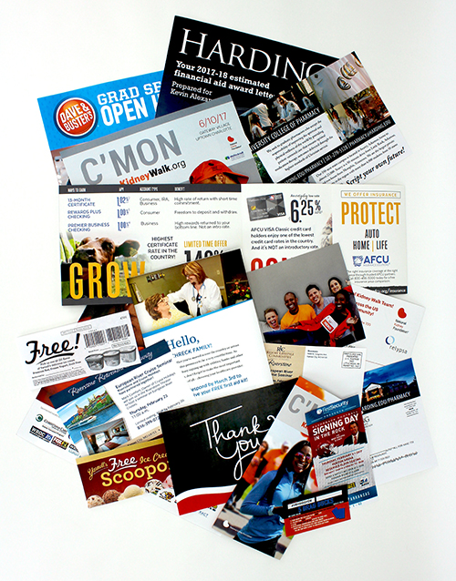 Direct Mail, Cross-Media Marketing, email marketing, packaging, marketing campaign