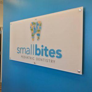 acrylic signage, interior design graphics