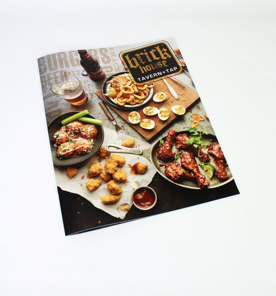 Brickhouse restaurant menu