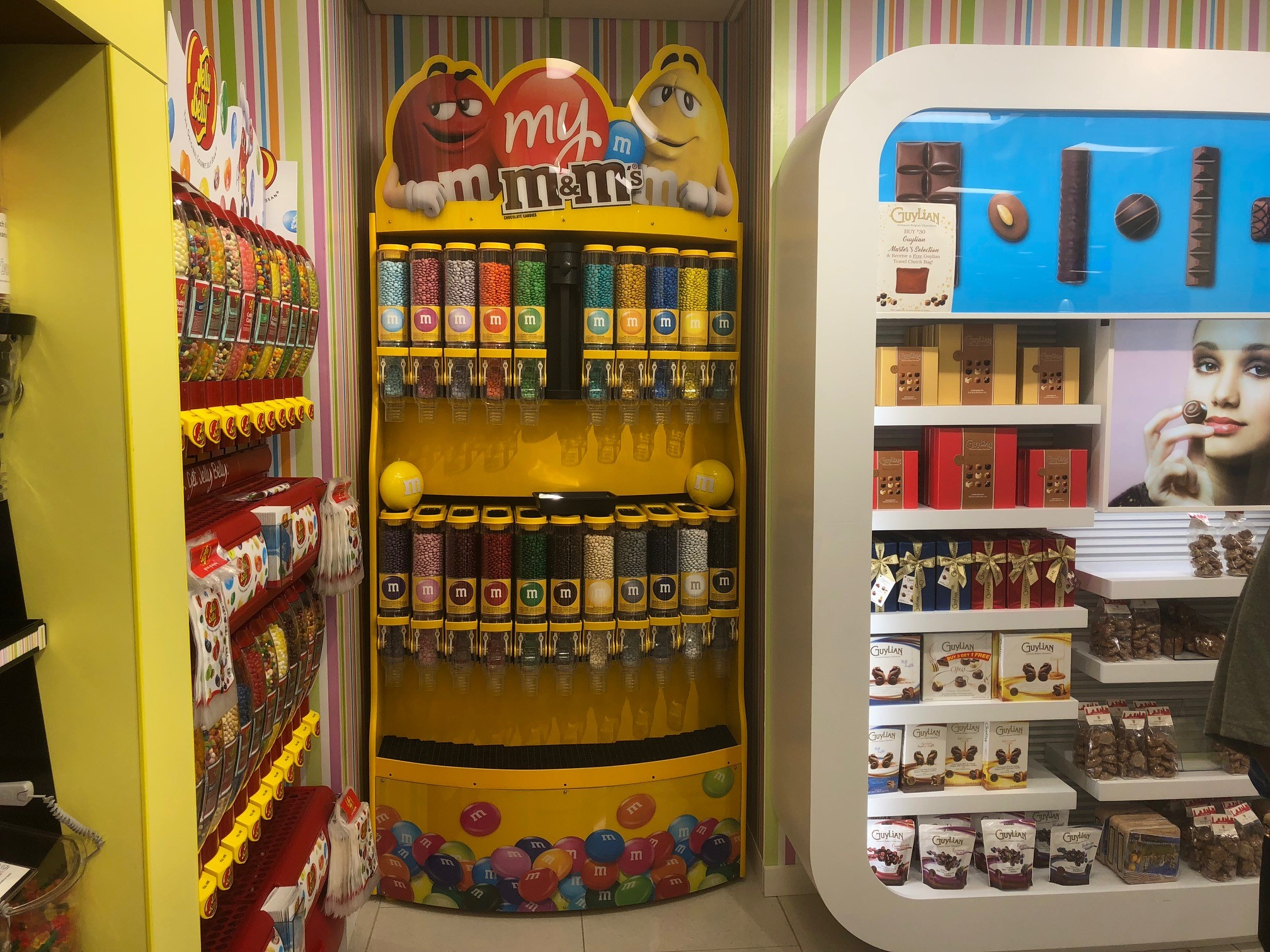 Captivating Retail Displays for Iconic Brands, from M&M® to Jelly Belly®