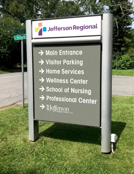 Hospital Signage, Building Signage, Exterior Signage, Outdoor Graphics, Outdoor Marketing