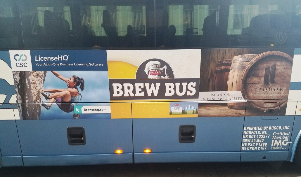 Bus Decal, bus graphics, bus wrap, bus sign